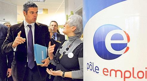 Laurent Wauquiez a soutenu la création du RSA il y a tout juste deux ans, alors qu'il était ministre de l'Emploi. Aujourd'hui, il veut y ajouter une contrepartie : 5 heures de service social par semaine. (Nicolas Krief/AFP)