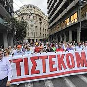 Athènes : faible défilé contre l'austérité