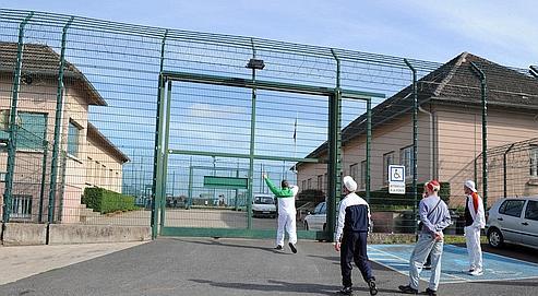 Le cente de détention d'Oermingen, dans le Bas-Rhin, est situé dans d'anciens bâtiments militaires.