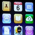 Les neuf applications d'iCloud.