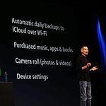 Les appareils iOS archiveront leurs données en Wi-Fi et 3G.