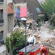 Un immeuble s'effondre à Montreuil : trois morts