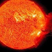 Éruption solaire : risque pour les satellites