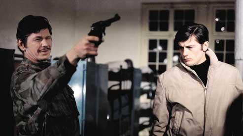 Adieu l'ami, de Jean Herman, d'après le roman de Sébastien Japrisot, avec, notamment, Charles Bronson et Alain Delon (1968). (©Rue des Archives/Collection CSF)