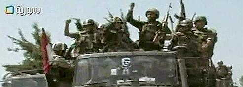 Syrie : l'armée prend le contrôle de la ville rebelle