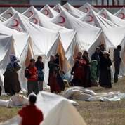 À l'intérieur d'un camp de réfugiés syriens