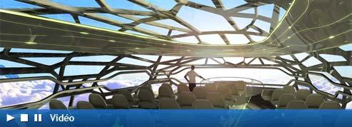 Airbus dévoile sa vision de l'avion du futur