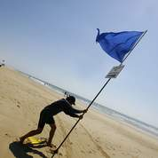 Choisissez une plage dotée du pavillon bleu