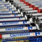 Carrefour: prévisions en baisse, chute en Bourse