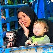 La fuite des Syriens devant l'armée