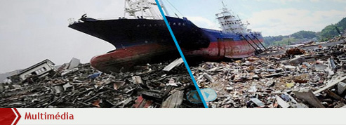 Trois mois après le tsunami, le Japon reste dévasté