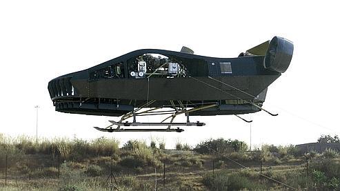 L'AirMule, qui a déjà réalisé plusieurs vols d'essais, intéresse notamment l'Otan. (DR)