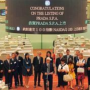 Prada : premiers pas à la Bourse de Hong Kong