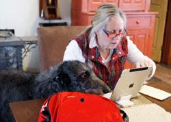 Les tablettes ont révolutionné la vie des seniors.