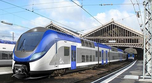 Le Regio2N,de Bombardier, peut accueillir jusqu'à 1300 voyageurs.