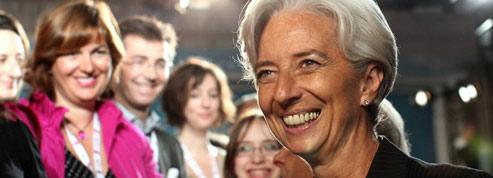Christine Lagarde <br/>prend la tête du FMI<br/>