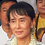 Aung San Suu Kyi , le 16 juin dernier.