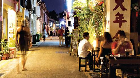 L'austère Singapour tentée par la bohème