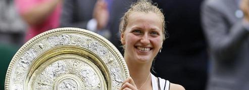 Kvitova remporte son premier<br /> Grand Chelem à Wimbledon&nbsp;&raquo; border=&nbsp;&raquo;0&Prime; /></a></p> <p><strong><span style=
