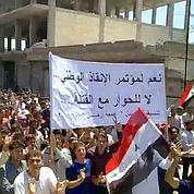 Syrie: manifestation monstre à Hama