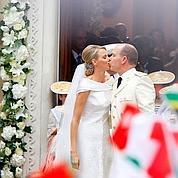 Mariage solennel pour Albert et Charlene