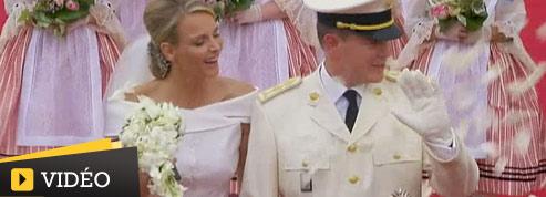 Les meilleurs moments du mariage princier en vidéo