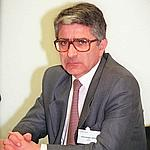 René-Georges Querry en 1998, alors responsable de la sécurité du Mondial.