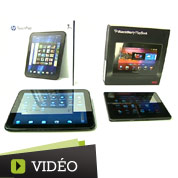 BlackBerry Playbook / HP Touchpad : le duel