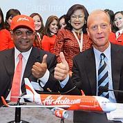 AirAsia lance une OPA sur le ciel mondial