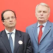 Ayrault et Cahuzac rallient Hollande