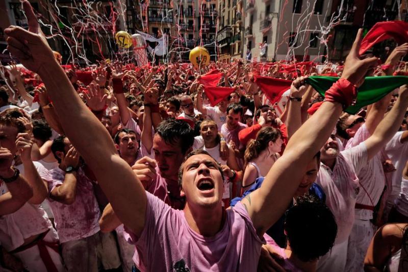 مهرجان بامبلونا فيرمين