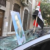 Damas : l'ambassade de France attaquée
