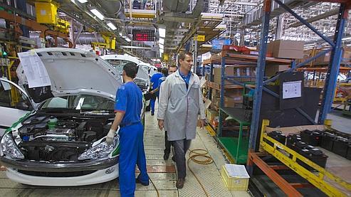 Peugeot maintient ses ventes au premier semestre