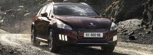 Peugeot 508 RXH, l'hybride gagne encore du terrain