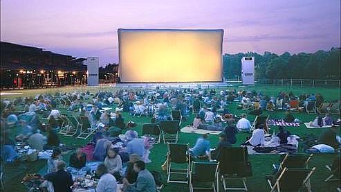 Le Festival Cinéma en plein air à la Villette. (Ph : Alain-Goustard)