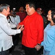 Chavez arrivé à Cuba pour soigner son cancer