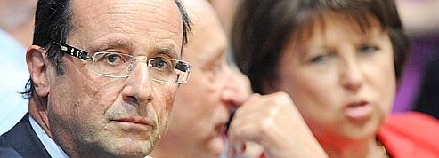 Premières crispations entre Hollande et Aubry