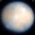 Cliché le plus précis de Cérès - pris par le télescope spatial Hubble en 2004. (crédits photo: Nasa/HST)