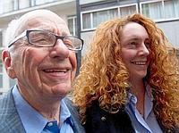Rupert Murdoch et Rebekah Brooks.