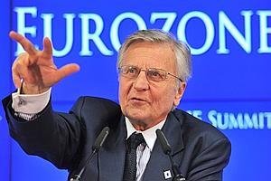 Jean-Claude trichet, président de la Banque centrale européenne, jeudi.
