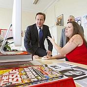Cameron veut faire oublier les scandales