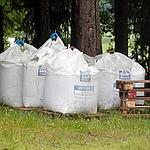 Des sacs d'engrais retrouvés à côté de la ferme louée par Breivik.