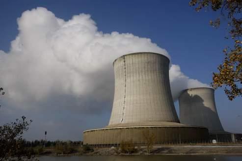 La centrale nucléaire de Saint Laurent des Eaux. Crédits photo: Jean-Christophe Marmara
