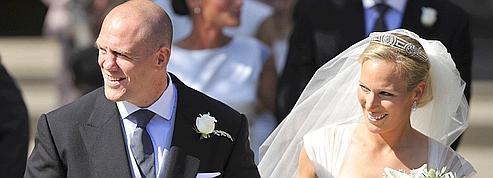 La petite fille d'Elizabeth II, Zara Phillips, s'est mariée