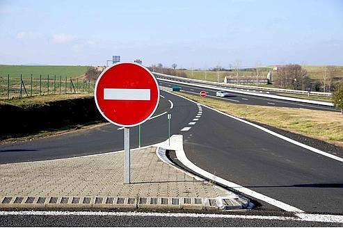 Contre sens sur l'autoroute à Cuers