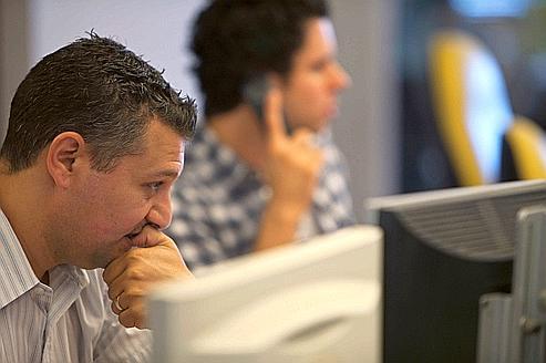 La peur d'une crise mondiale a atteint les brokers de Tel Aviv.