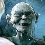 Gollum dans Le Seigneur des anneaux de Peter Jackson.