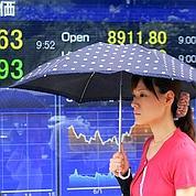 Nouveau recul sur les Bourses en Asie