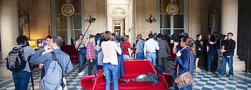 Aux «Quatre Colonnes», les députés sous l'œil des médias