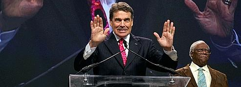 Rick Perry, le «cow-boy» texan entre en piste